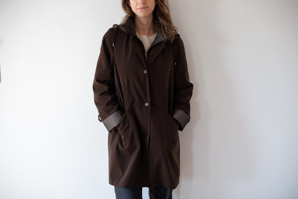 Chocolate Multi-Season Coat
