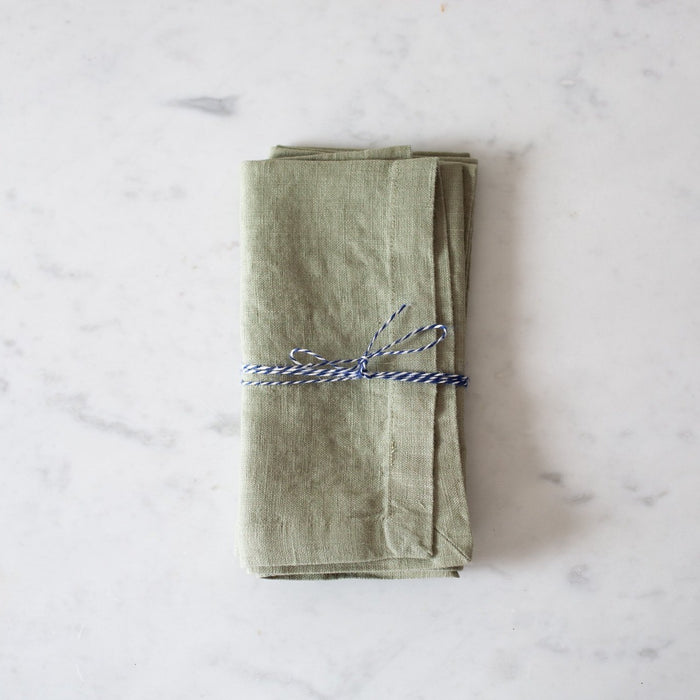 Linen Napkins - Set of 2 - Sage