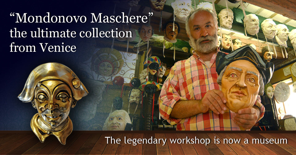 Mondonovo Venetian Masks, Eyes Wide Shut Masks, Asian Antiques, Wayang Puppets, World Masks