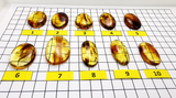 Fossil Amber Free Shape Cabochons