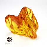 Natural Amber Free Shape Stone