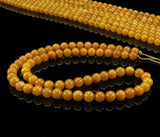 Antique Baltic amber round beads