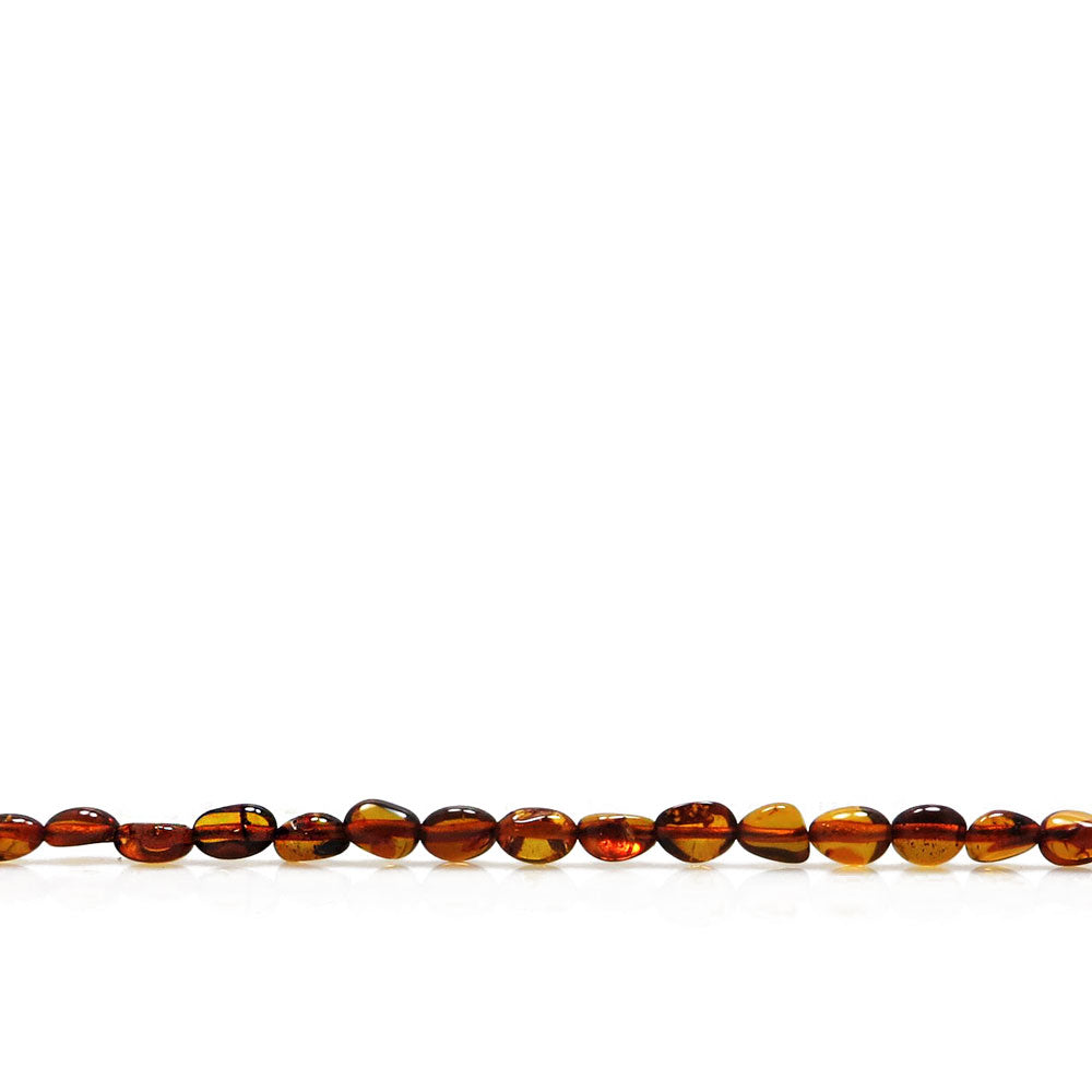 Cognac Amber Nuggets Strand - Amber Alex Jewelry