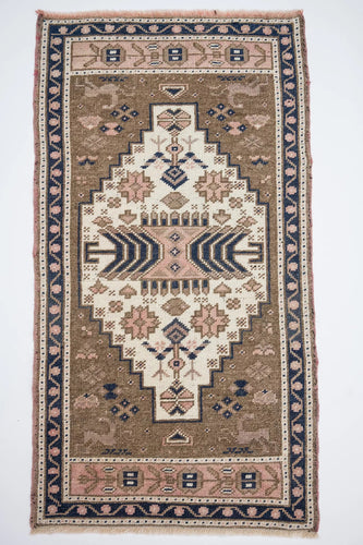 Anthropologie ® District Loom Vintage Mini Rug No. 190