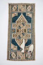 Load image into Gallery viewer, Anthropologie ® District Loom Vintage Mini Rug No. 163