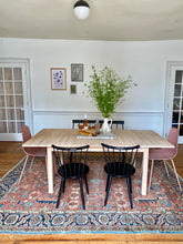 Load image into Gallery viewer, dining set on area rug
