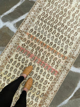 Load image into Gallery viewer, Standing On Vintage Persian Rug Runner