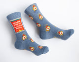 Alarm, You're A Little Bitch - Blue Q Women's Crew Socks