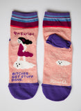 Bitches Get Stuff Done - Blue Q Women's Ankle Socks