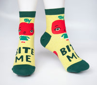 Bite Me - Blue Q Women's Ankle Socks