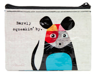 Barely Squeakin' By - Blue Q Coin Purse