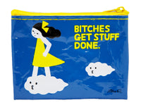 Bitches Get Stuff Done - Blue Q Coin Purse
