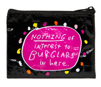 Burglars - Blue Q Coin Purse