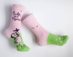 Cute. But Psycho, But Cute - Blue Q Women's Crew Socks