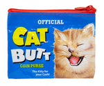 Cat Butts - Blue Q Coin Purse