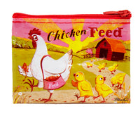 Chicken Feed - Blue Q Coin Purse