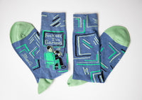 Fuck Off I'm Gaming - Blue Q Men's Crew Socks