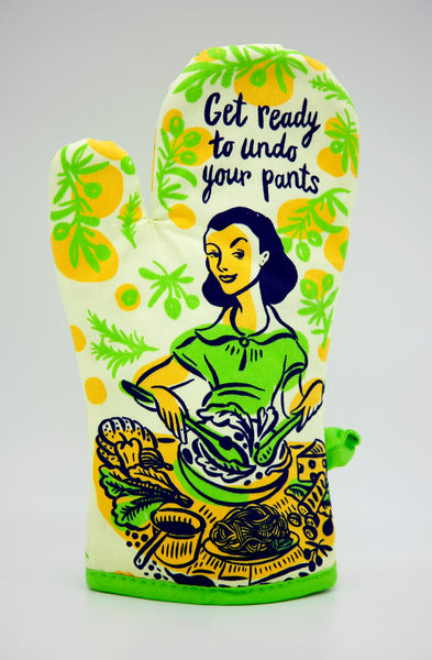 Get Ready To Undo Your Pants - Blue Q Oven Mitt