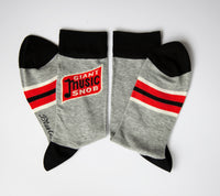 Giant Music Snob - Blue Q Men's Crew Socks