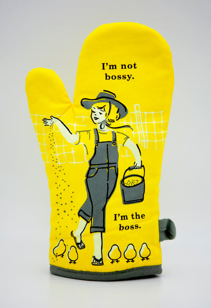 I'm Not Bossy, I'm The Boss - Blue Q Oven Mitt