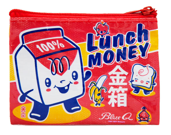 Lunch Money - Blue Q Coin Purse