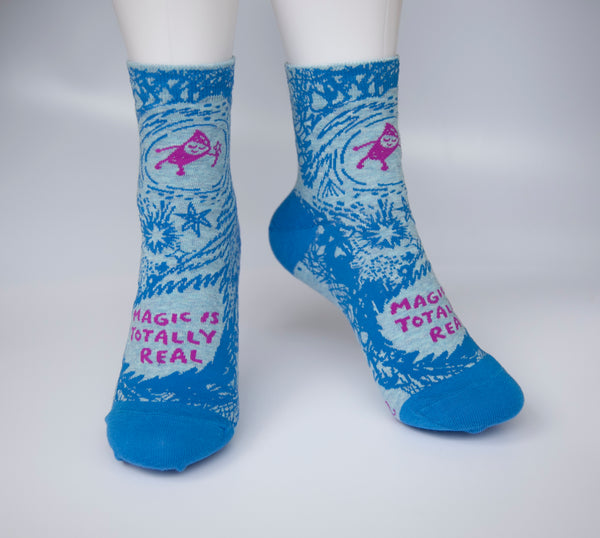 Magic Is Totally Real - Blue Q Women's Ankle Socks