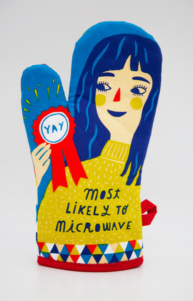 Most Likely To Microwave - Blue Q Oven Mitt