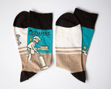 Mr. Perfect - Blue Q Men's Crew Socks