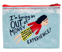 Out Of Money Experience - Blue Q Coin Purse