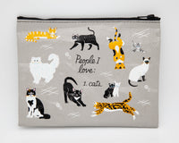 People I Love: Cats - Blue Q Zipper Pouch