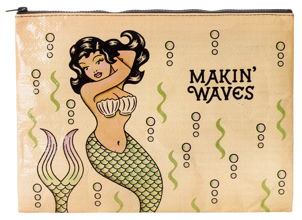 Makin' Waves - Blue Q Jumbo Pouch