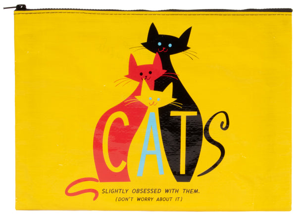 Cats - Blue Q Jumbo Pouch