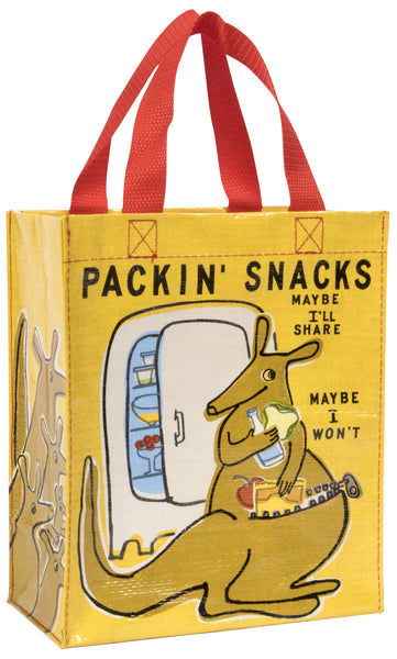 Packin' Snacks - Blue Q Handy Tote