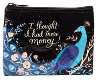 Thought I Had More Money - Blue Q Coin Purse