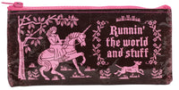 Runnin' the World and Stuff - Blue Q Pencil Case