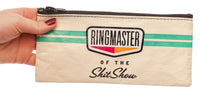 Ringmaster Of The Shitshow - Blue Q Pencil Case