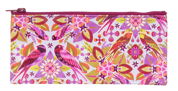 Six & A Half Birds - Blue Q Pencil Case