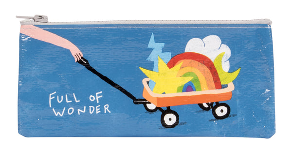 Full of Wonder - Blue Q Pencil Case