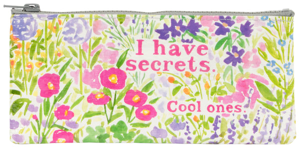 I Have Secrets - Blue Q Pencil Case