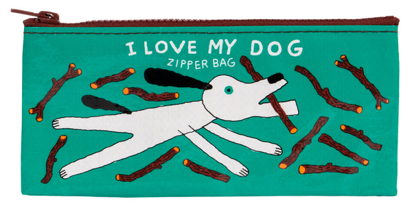 I Love My Dog   - Blue Q Pencil Case