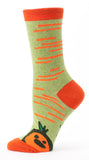 We had A Baby Carrot - Blue Q Women's Crew Socks