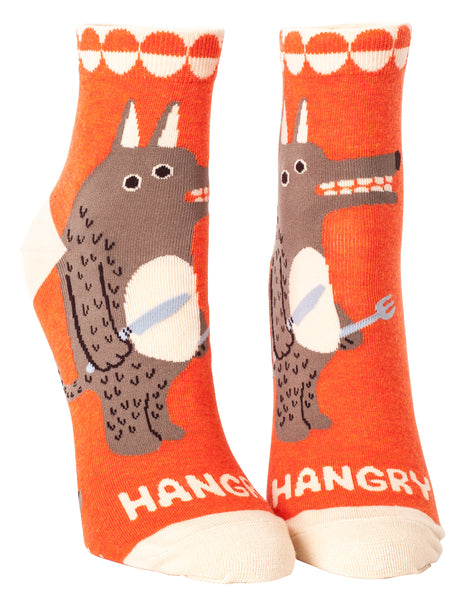 Hangry - Blue Q Women's Ankle Socks