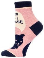 I Do As I Please - Blue Q Women's Ankle Socks