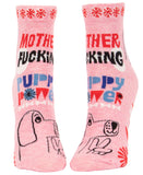 MF'in Puppy Power - Blue Q Women's Ankle Socks