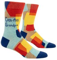 Cool-Ass Grandpa - Blue Q Men's Crew Socks
