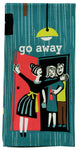 Go Away - Blue Q Dish Towel