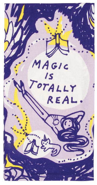 Magic Is Totally Real - Blue Q Dish Towel
