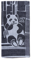 Lazy Ass - Blue Q Dish Towel
