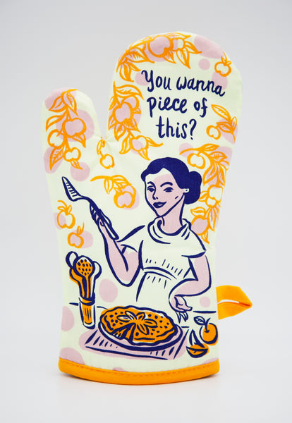 You Wanna Piece Of This - Blue Q Oven Mitt