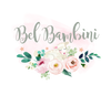 Logo of Bel Bambini online store, retailer of baby and toddler clothing